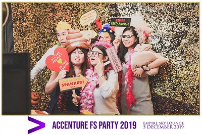 Accenture FS Party 2019   © www.SRSLYPhotobooth.sg