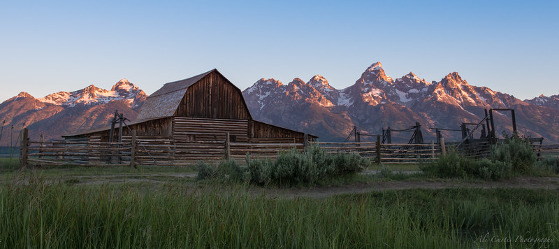 Mormon Row, Grand Teton National Park