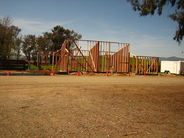 NEW STALLION BARN