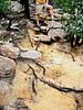Erosion damage on track