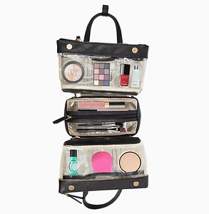 Inside view of Make up/Toiletry Travel Bag