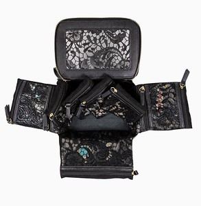 Travel Jewelry Case shown in Lace version