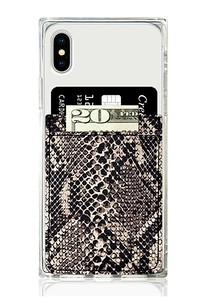 Python Faux Leather Pocket for all Phones $10