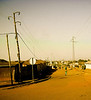 Outskirts, Dirt Road and Power Lines, Skoda, Togo