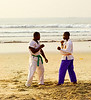 Karate Class, Afia Beach, Accra, Ghana