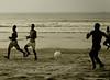 Soccer, II, Afia Beach, Accra, Ghana