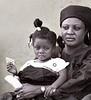 Staring, Ashanti Funeral, Kumasi, Ghana