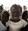 Young Girl, White Frock, near Tamale, Ghana