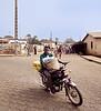 Motorcycle, Outskirts, Ouida, Benin