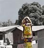 Woman in Yellow, Roadside, Akpassi, Benin