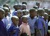 Boy Students, In Rows, Bante, Benin