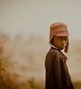 Boy in a Hat, in a Field, near Tamale, Ghana