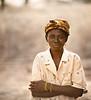 Washerwoman, Yellow Bracelets, near Tamale, Ghana