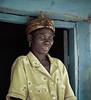 Washerwoman, near Tamale, Ghana