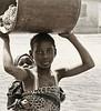 Child on her Back, Police Station, near Tamale, Ghana