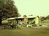 Portable Cafe, near Tamale, Ghana