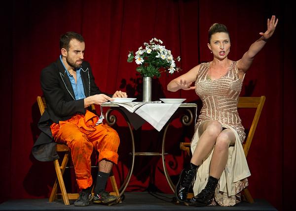 Jaime Monfort Miralles, Olga Vojnovic-Cherepina