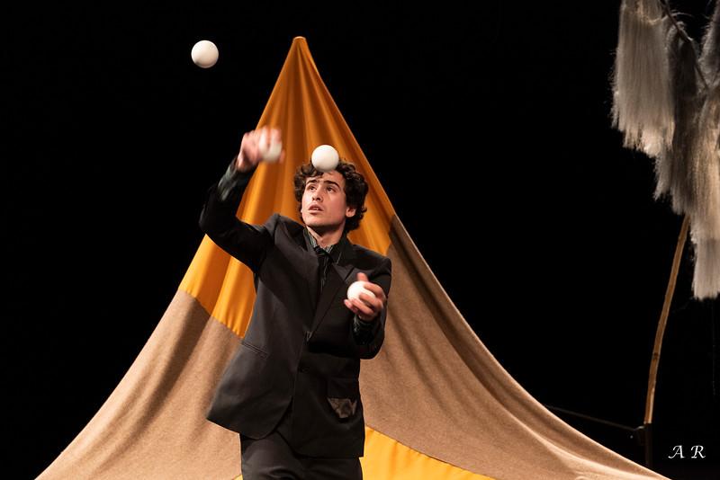 Simon Aravena, jongleur