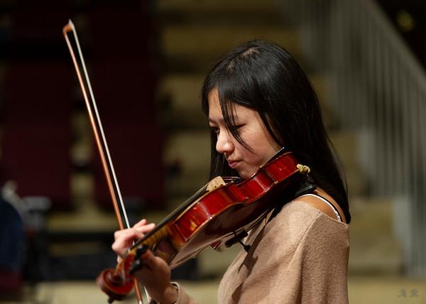Répétition d'orchestre, oct. 2019