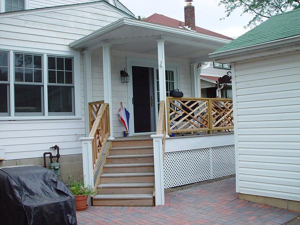 Clintonville Sitting Porch