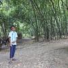 Durjoy in his village