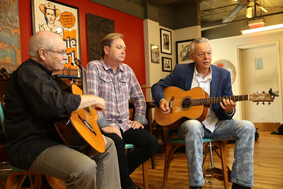 Acoustic Magazine shoot at Gruhn Guitars on August 23, 2017. Photos by Donn Jones Photography