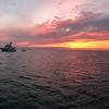 West Bay Anchorage off New Providence - Sunset view of Vamos
