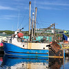 Fishing boat arrives into the Port loaded with its catch