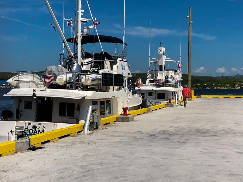 Acqua Dolce and Roam Arrive Port aux Basques_7/31/18