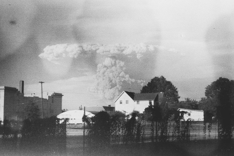 Clouds of Smoke from the Eruption