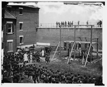 Hanging Of The Lincoln Assassination Conspirators