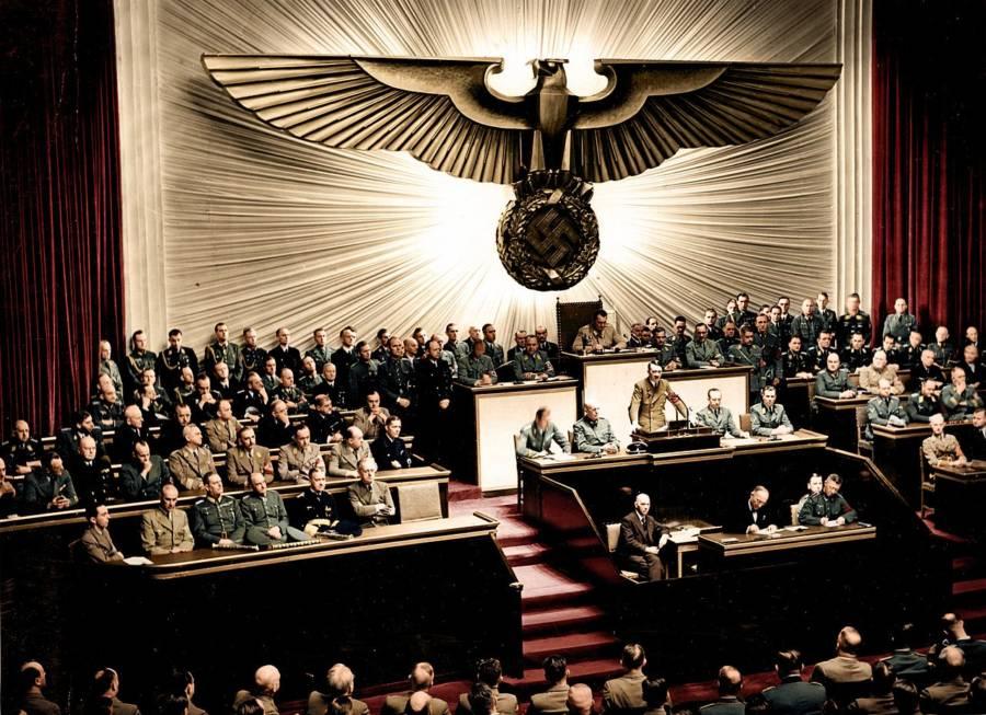 Hitler Declares War On The U.S.