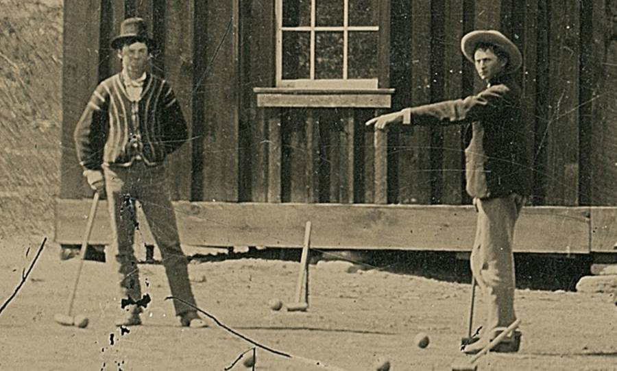 Billy The Kid, In Person With His Posse