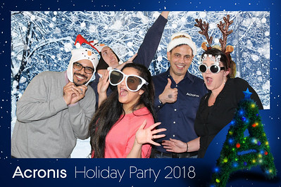 Acronis Holiday Party 2018