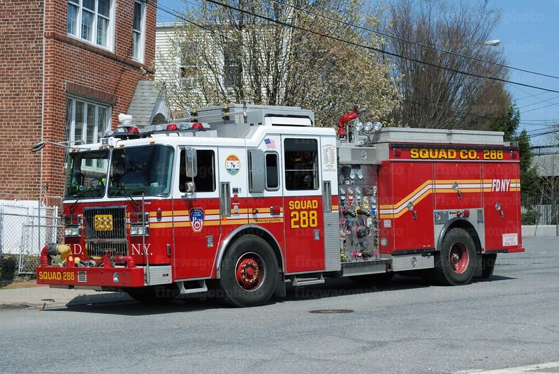 FDNY Queens Squad 288 - 2013 Seagrave 1000/500