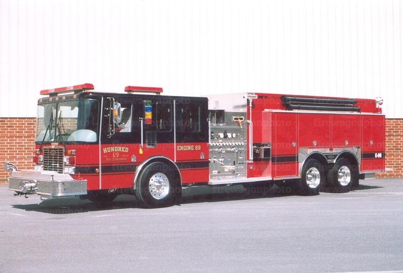 Hundred, West Virginia - Engine 69: 2005 HME/Toyne 2000/2500