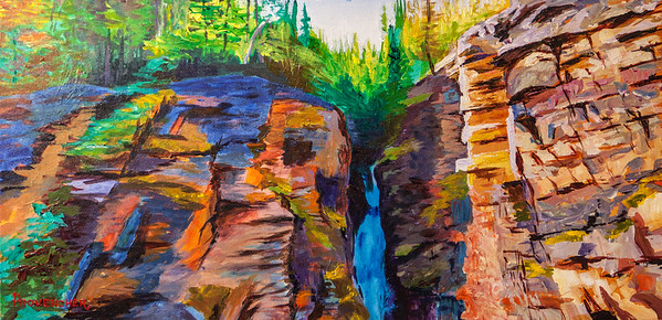 Troll Falls Canyon 24x12