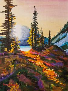 Glowing Meadows 12x16