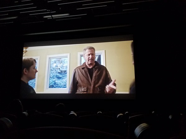 Photo I shot in the theatre at a screening of the film at a film festival in San Francisco.