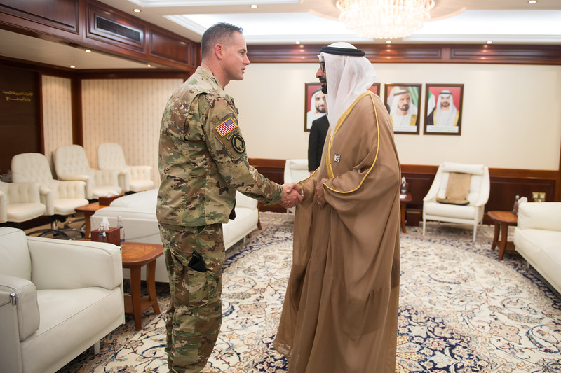 Acting Secretary of the Army Visits UAE