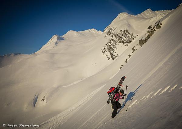 Alaska Stairmaster....Chugach Mountains, AK