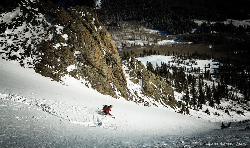 Spring Powder Turns....Gothic, CO
