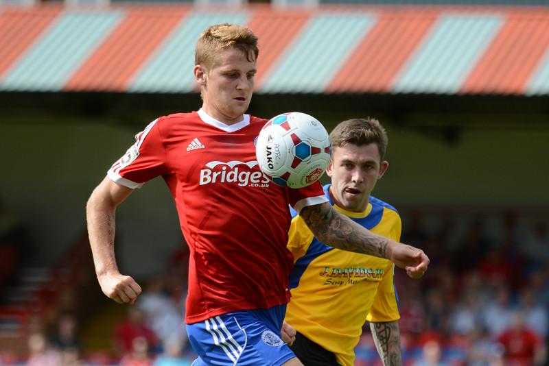 Joe Oastler in control for Aldershot