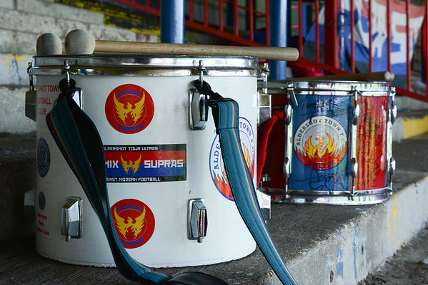 The drums are ready