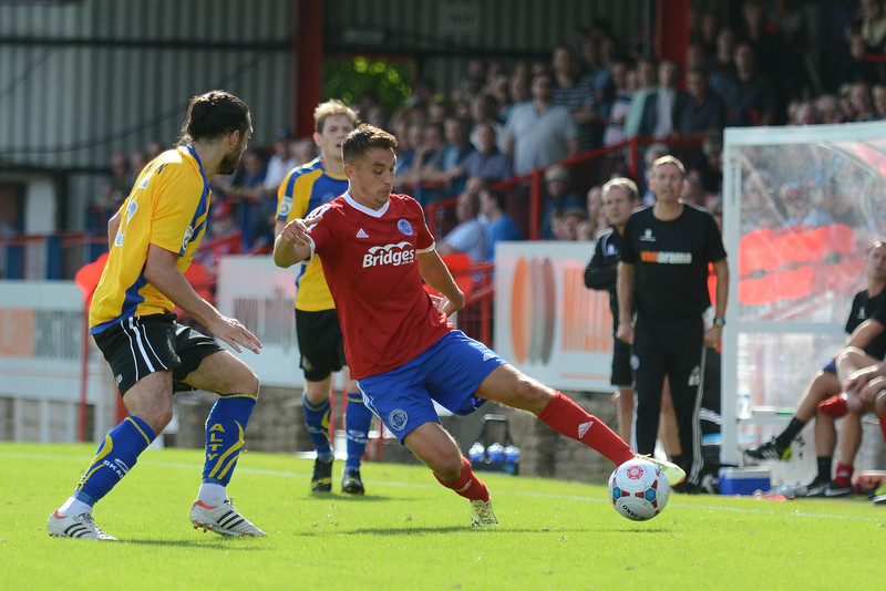 Brett Williams on the attack