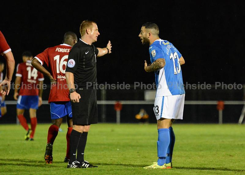 Stuart Fleetwood can't believe the decision