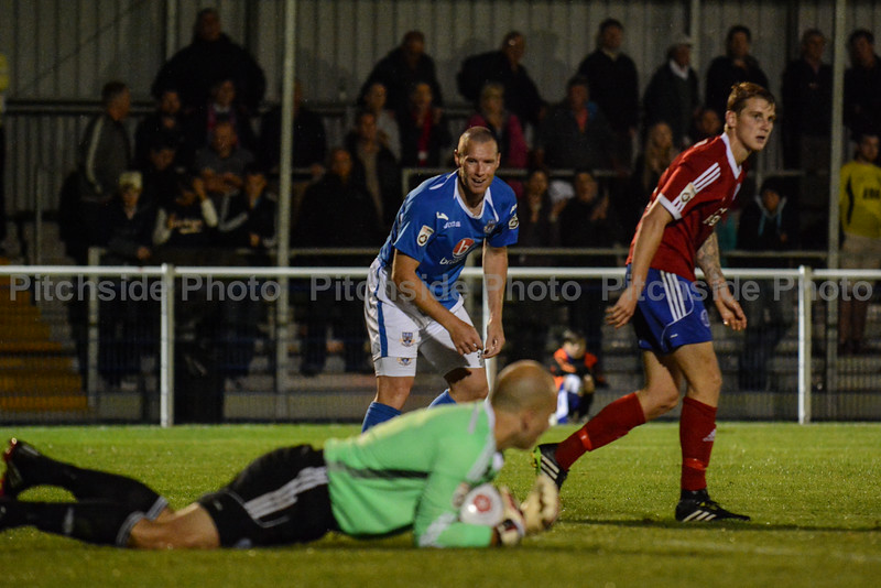 James Constable of Eastleigh is denied by Phil Smith