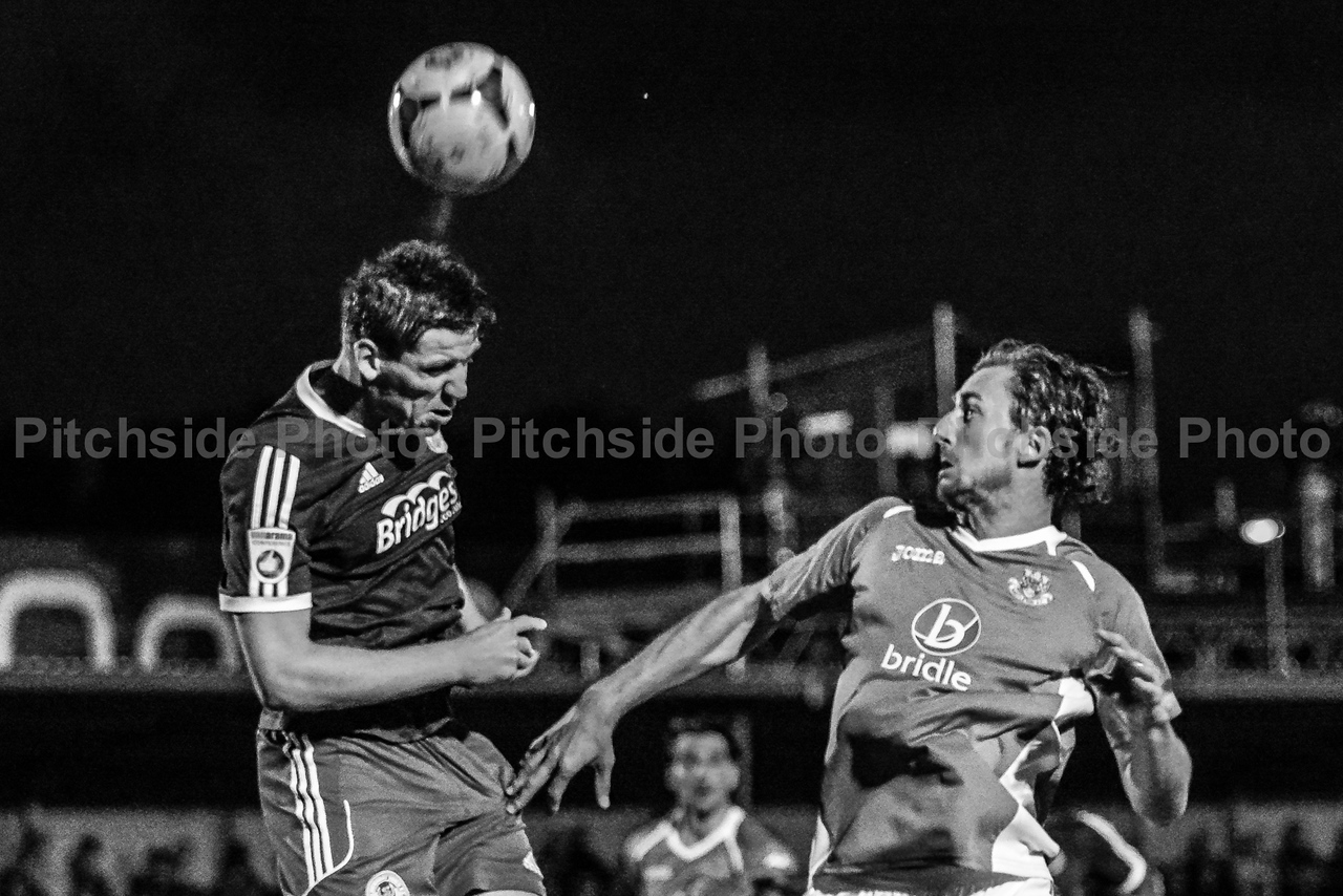 Eastleigh v Aldershot Town - Vanarama Conference - The Silverlake Stadium, Eastleigh - 14/8/14 - Credit Paul Paxford/Pitchside Photo - pitchsidephotography@gmail.com - No Unpaid Use