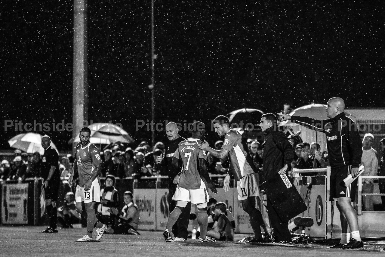 Substitution in the rain