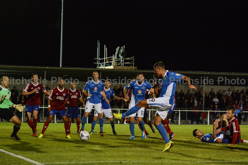 Ben Wright scores a last minute winner for Eastleigh
